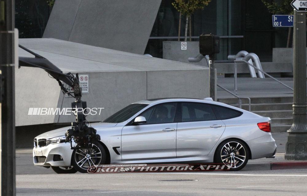 BMW Seria 3 GT, primele imagini spion - Poza 12