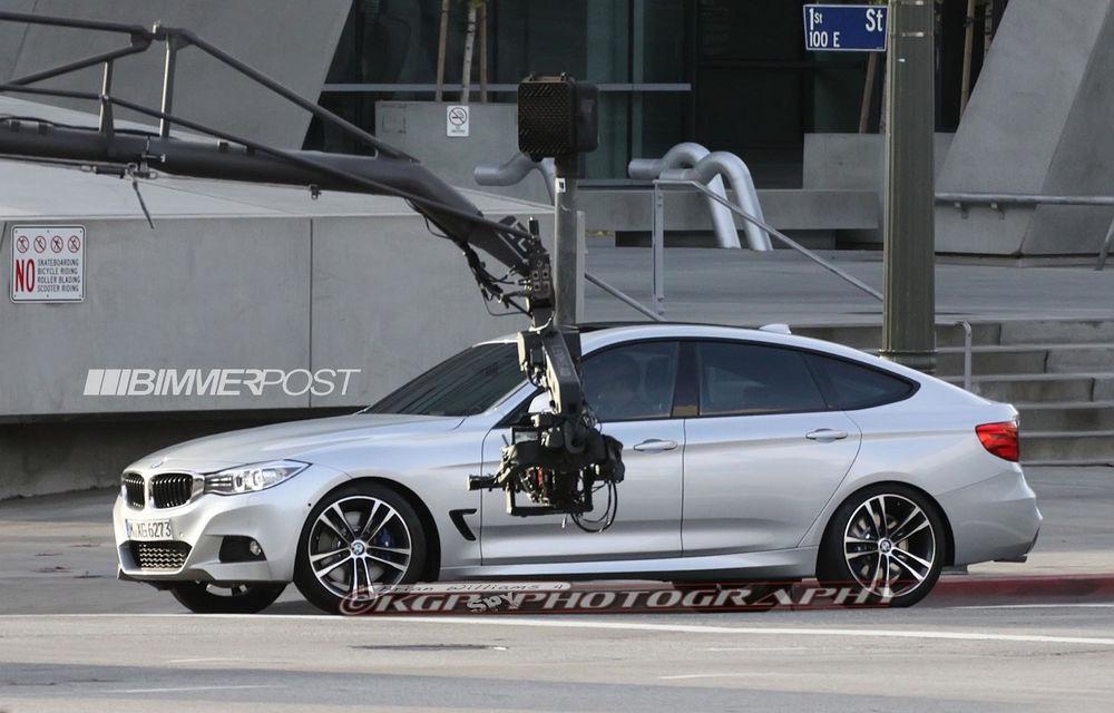 BMW Seria 3 GT, primele imagini spion - Poza 11