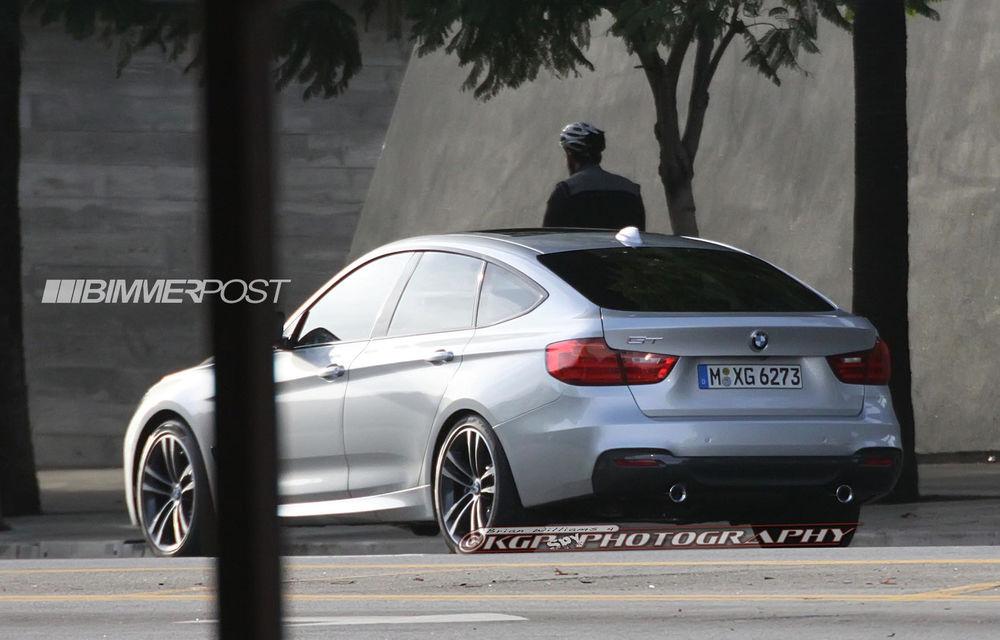 BMW Seria 3 GT, primele imagini spion - Poza 13