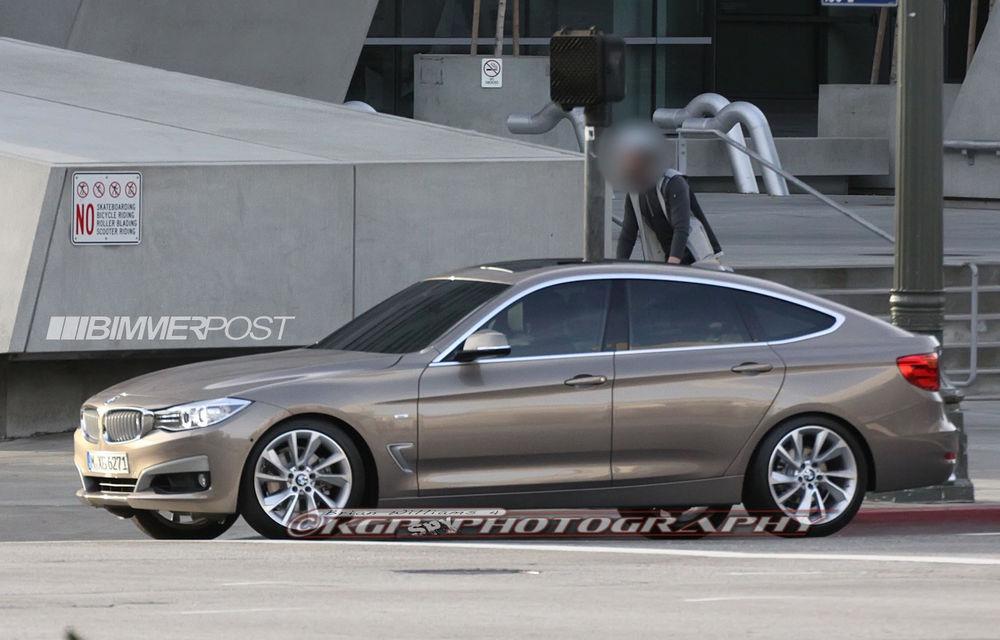 BMW Seria 3 GT, primele imagini spion - Poza 7
