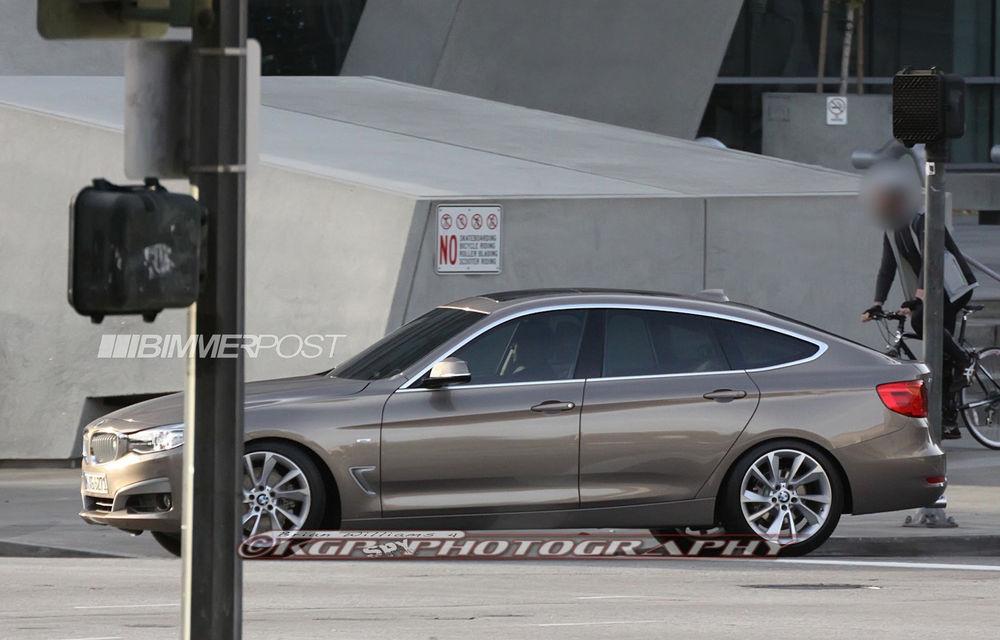 BMW Seria 3 GT, primele imagini spion - Poza 6