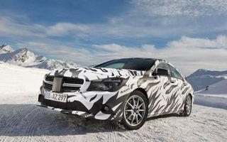 Mercedes-Benz CLA şi CLA 45 AMG, primele imagini oficiale