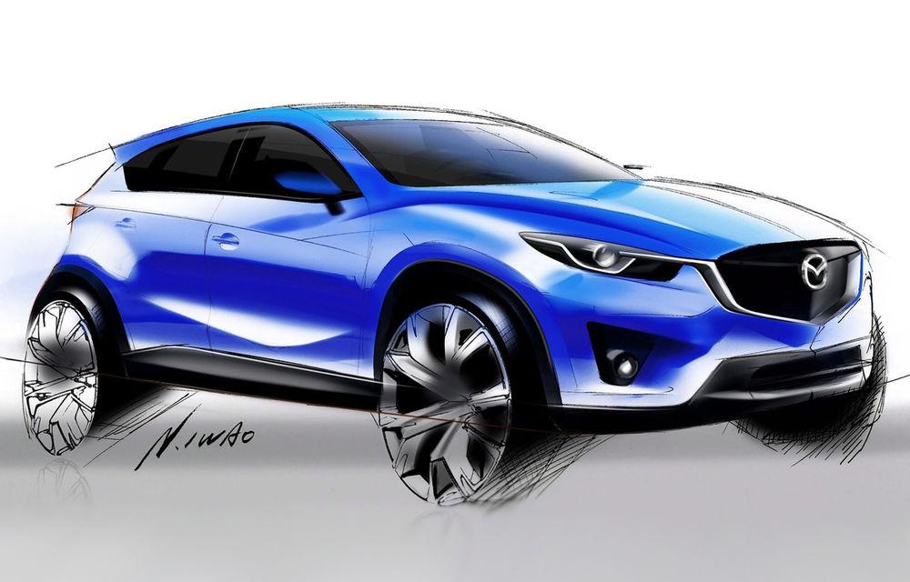 Mazda pregăteşte CX-3, un crossover care se va bate cu Nissan Juke - Poza 1