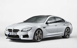 BMW M6 Gran Coupe - primele imagini ale celui mai nou sedan de performanţă