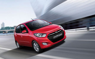 Hyundai i10 primeşte un facelift minor
