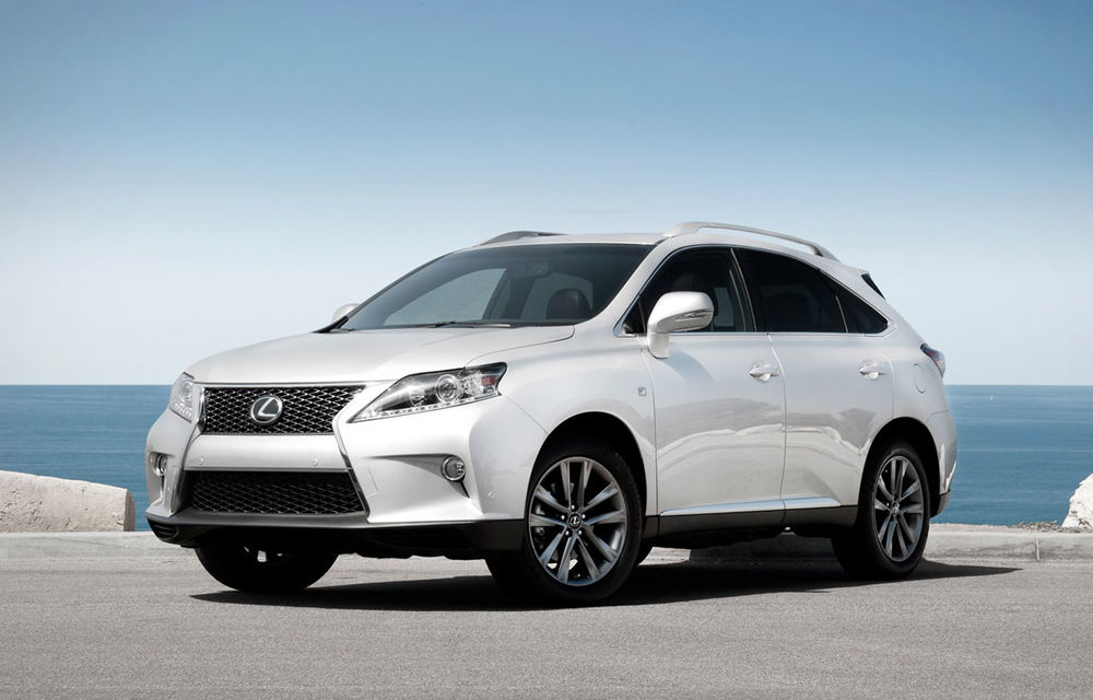 Toyota, amendată cu 17.4 milioane de dolari pentru că a întârziat recall-ul lui Lexus RX - Poza 1