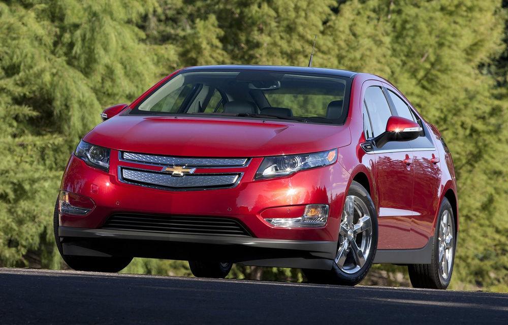Chevrolet Volt și-a triplat vânzările în 2012 - Poza 1