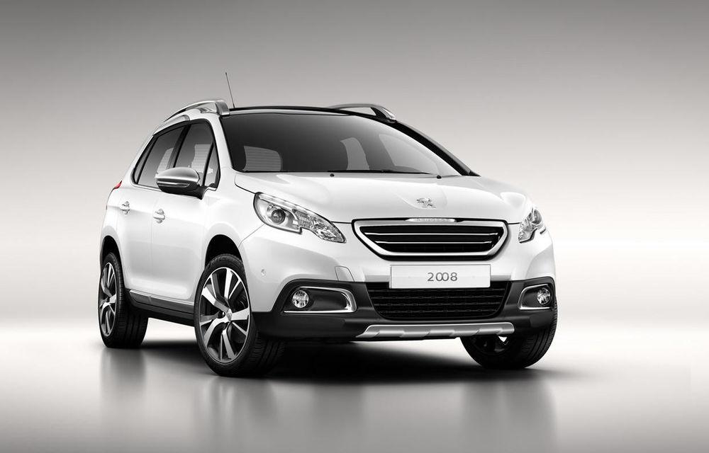Peugeot 2008 - primele imagini cu rivalul lui Nissan Juke - Poza 1