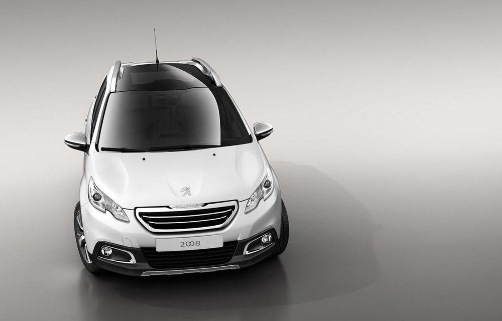 Peugeot 2008 - primele imagini cu rivalul lui Nissan Juke - Poza 2