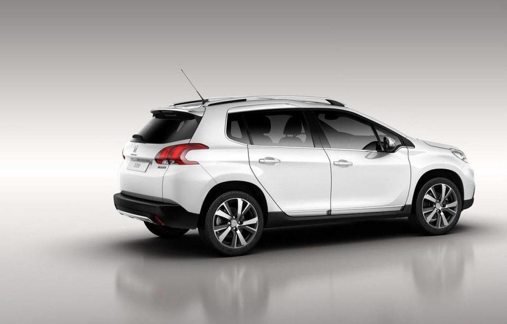 Peugeot 2008 - primele imagini cu rivalul lui Nissan Juke - Poza 7
