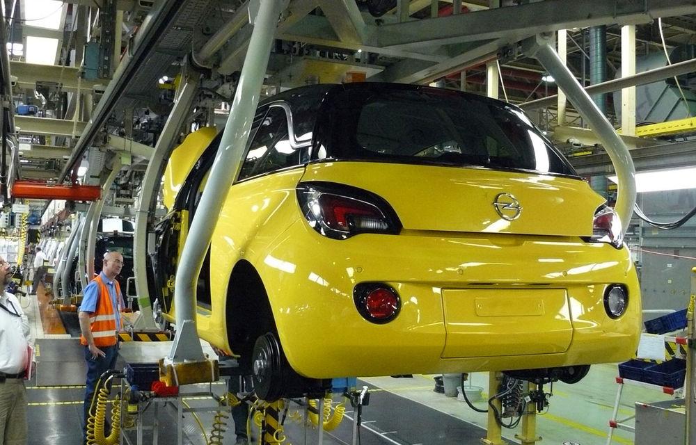 Opel Adam a intrat oficial în producţia de serie - Poza 2