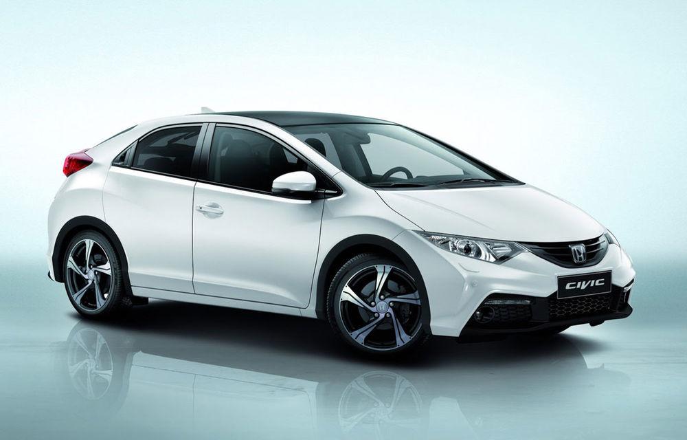 Honda Civic primeşte un pachet aerodinamic nou - Poza 1