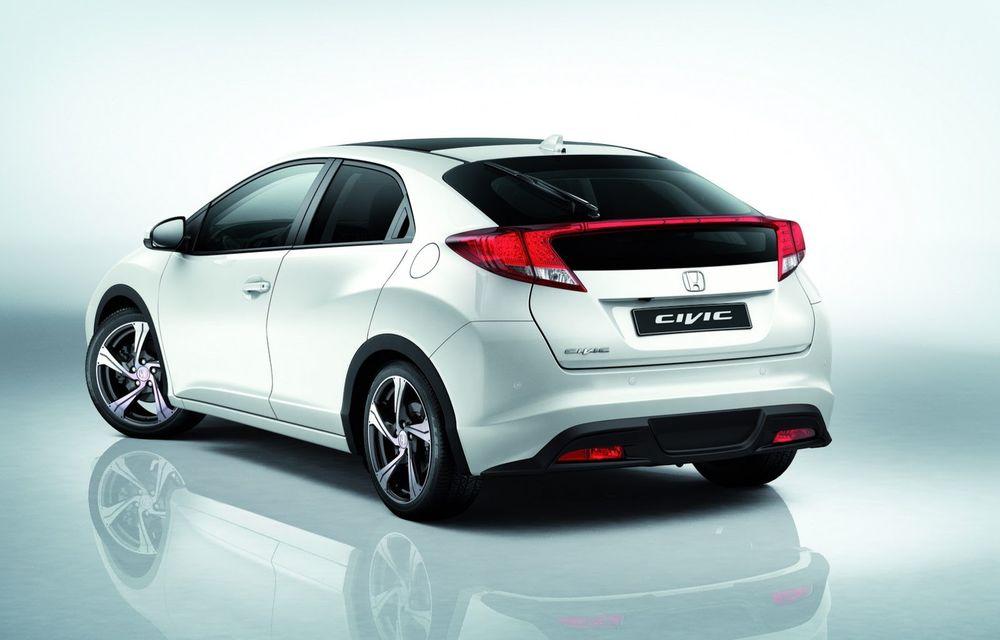 Honda Civic primeşte un pachet aerodinamic nou - Poza 2