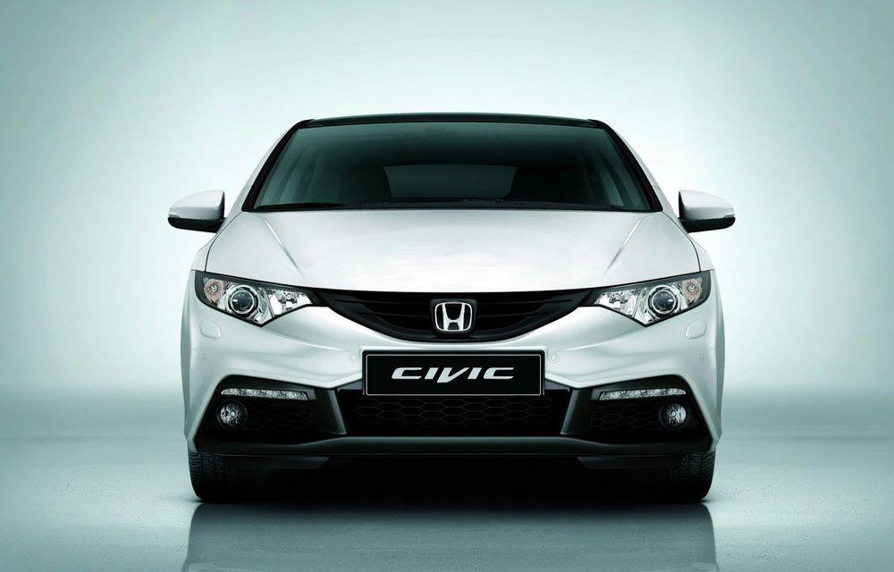 Honda Civic primeşte un pachet aerodinamic nou - Poza 3