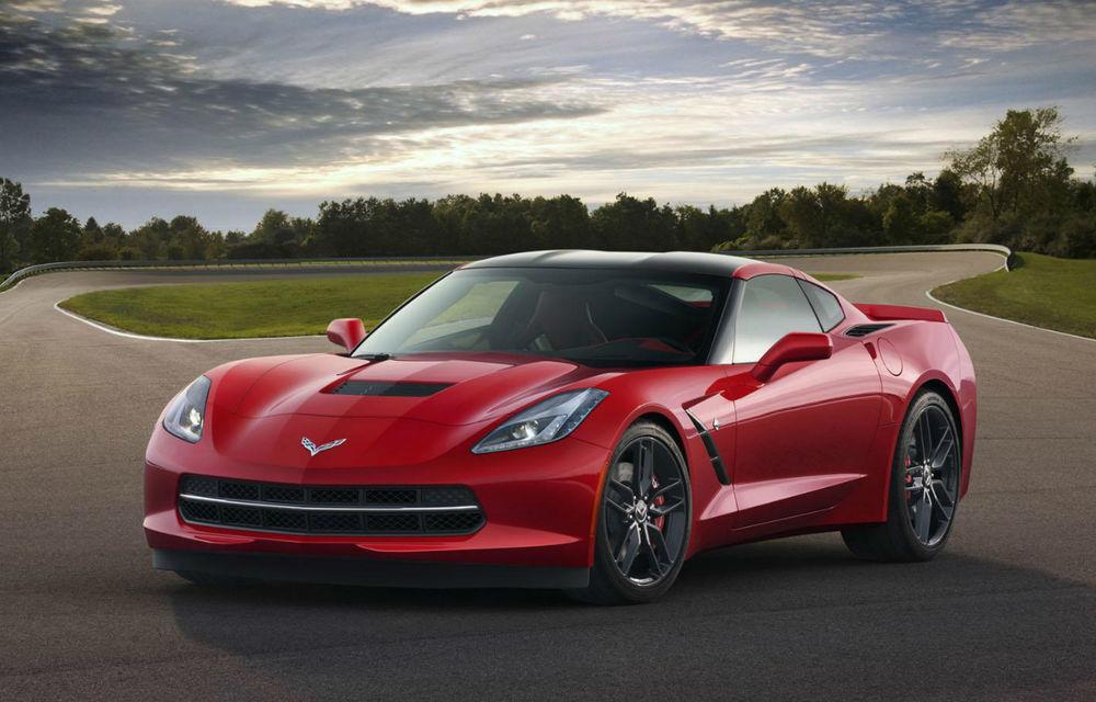 Corvette Stingray, noua generaţie a supercarului american - Poza 1
