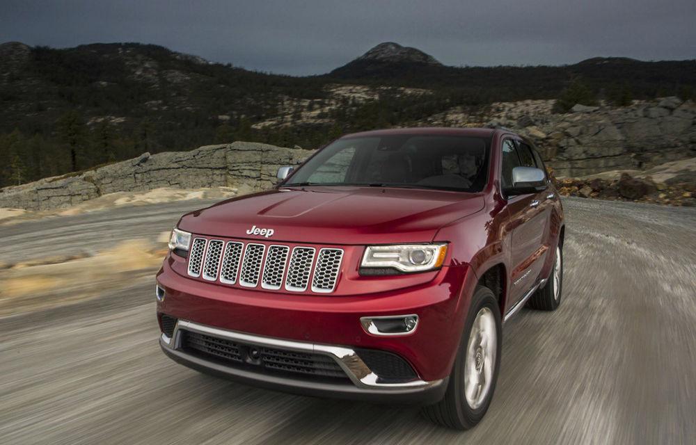 Jeep Grand Cherokee a primit un facelift - Poza 1