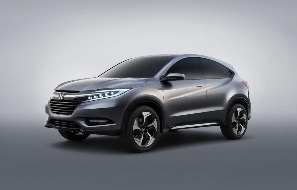 Honda Urban SUV - viitorul rival al lui Nissan Juke a debutat la Detroit - Poza 1