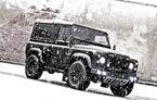Land Rover Defender by Kahn Design: pentru ierni liniştite