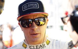 Raikkonen va concura cu Renault Duster  într-o cursă pe gheaţă în Rusia