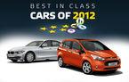 EuroNCAP: Cele mai sigure maşini testate în 2012