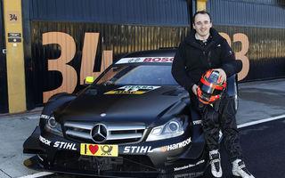 VIDEO: Kubica şi Glock au testat în DTM pentru Mercedes şi BMW