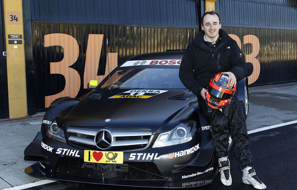 VIDEO: Kubica şi Glock au testat în DTM pentru Mercedes şi BMW - Poza 1