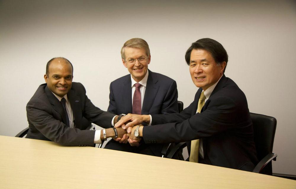 Daimler, Ford şi Nissan au semnat un parteneriat pentru dezvoltarea vehiculelor alimentate cu hidrogen - Poza 1