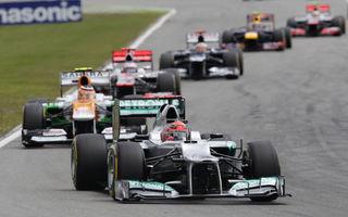 """Ecclestone: """"Cursa germană din 2013 s-ar putea transforma în Marele Premiu al Europei"""""""