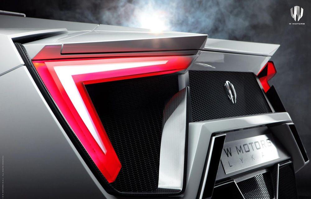 Arabii au lansat un supercar de 3.4 milioane de dolari: Lykan Hypersport - Poza 5