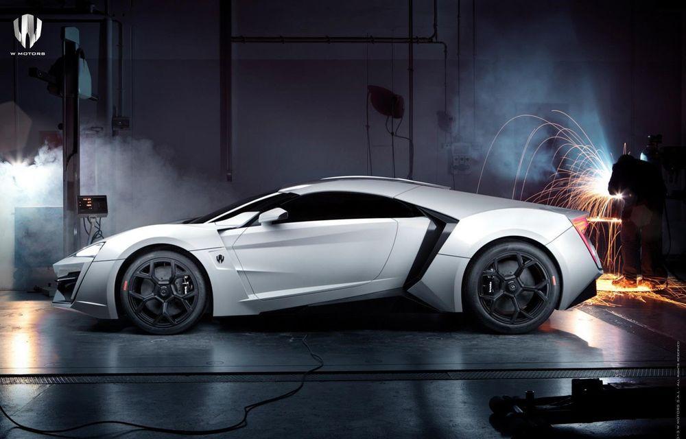 Arabii au lansat un supercar de 3.4 milioane de dolari: Lykan Hypersport - Poza 2