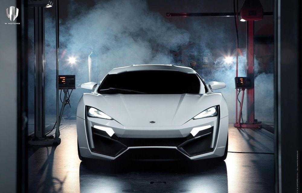 Arabii au lansat un supercar de 3.4 milioane de dolari: Lykan Hypersport - Poza 16