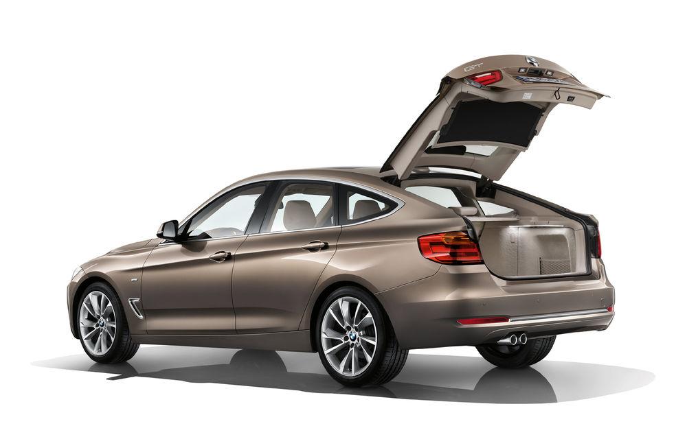 BMW Seria 3 Gran Turismo, imagini şi informaţii oficiale - Poza 13