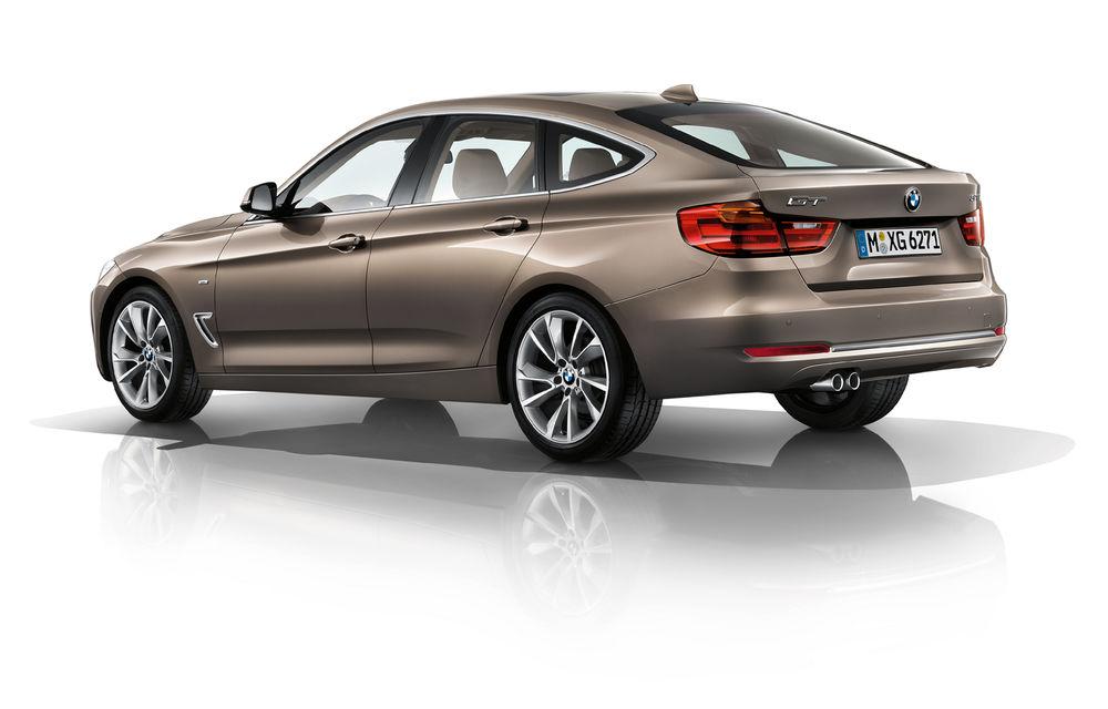 BMW Seria 3 Gran Turismo, imagini şi informaţii oficiale - Poza 6