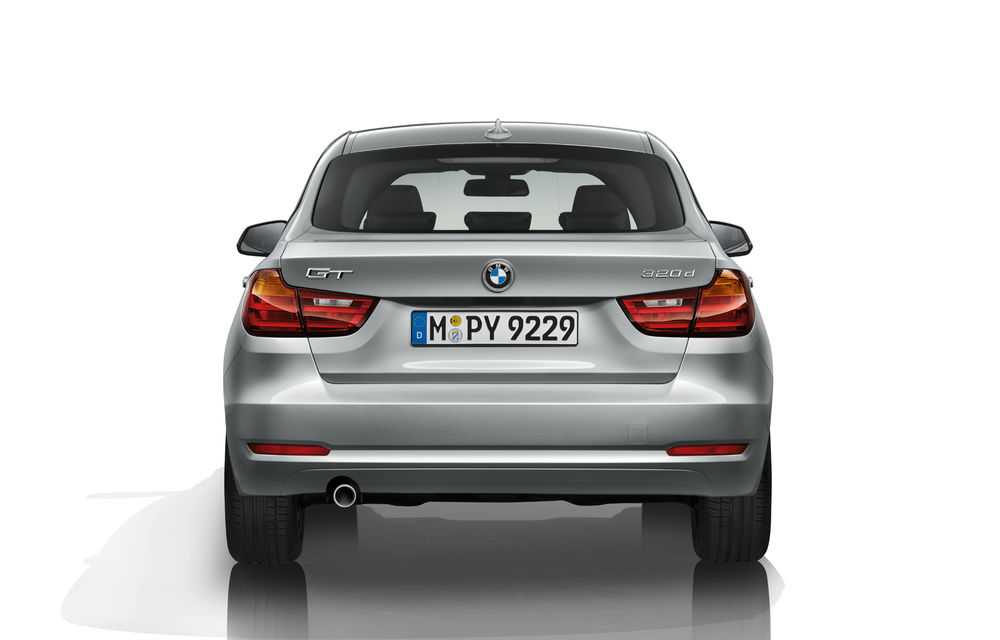 BMW Seria 3 Gran Turismo, imagini şi informaţii oficiale - Poza 12