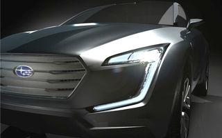Subaru Viziv Concept, primul teaser al viitorului crossover japonez