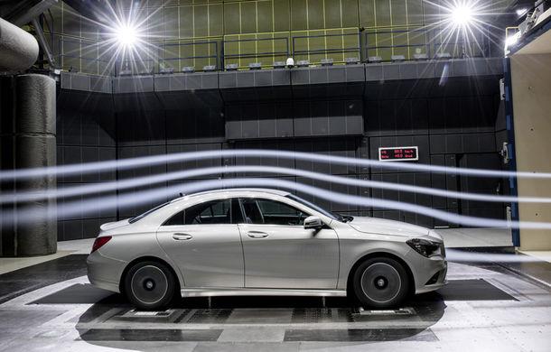 Mercedes-Benz CLA 180 BlueEfficiency a devenit cel mai aerodinamic model de serie din lume - Poza 1