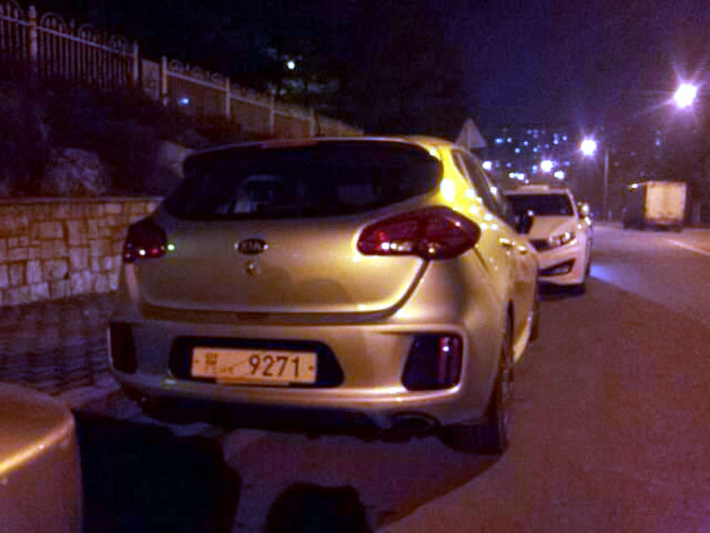 Kia Cee'd GT, prima imagine neoficială a versiunii cu cinci uşi - Poza 4