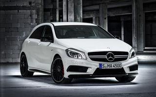 Mercedes-Benz A45 AMG devine cel mai puternic hot hatch din lume: 360 CP şi 4.6 secunde pentru 0-100 km/h
