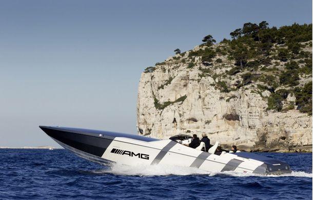 Mercedes-Benz SLS AMG Electric Drive a inspirat cea mai rapidă barcă electrică din lume - Poza 9