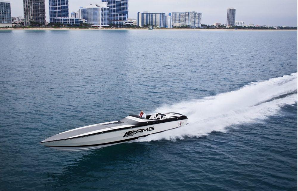 Mercedes-Benz SLS AMG Electric Drive a inspirat cea mai rapidă barcă electrică din lume - Poza 10