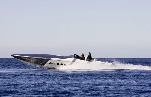 Mercedes-Benz SLS AMG Electric Drive a inspirat cea mai rapidă barcă electrică din lume - Poza 8