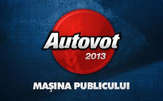 Record de voturi în AUTOVOT 2013: 9844 de români au ales cele mai populare maşini din România