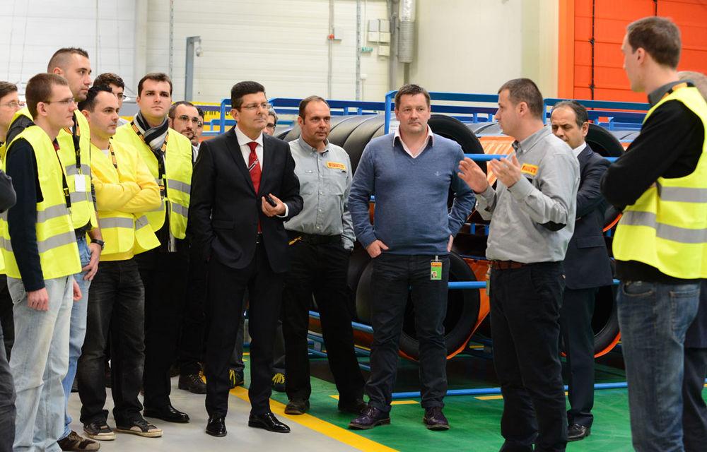 REPORTAJ: În vizită la fabrica Pirelli de la Slatina - Poza 1