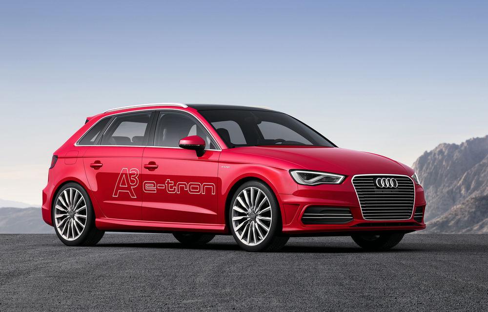 Audi A3 e-tron Concept - surpriza germanilor pentru Salonul de la Geneva - Poza 1