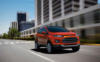 Ford EcoSport - versiunea europeană sosește la Salonul Auto de la Geneva