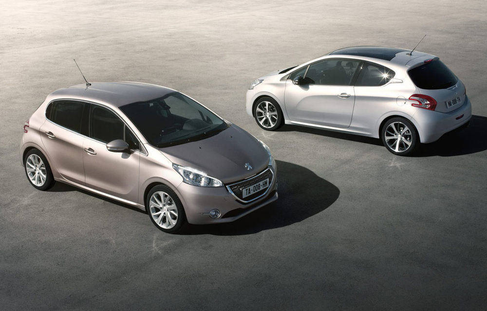 Peugeot a produs 300.000 de unităţi 208 la un an de la debutul modelului - Poza 1