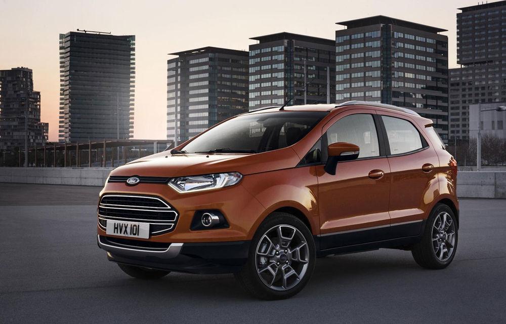 Ford EcoSport - informaţii şi galerie foto cu noul rival al lui Nissan Juke - Poza 1