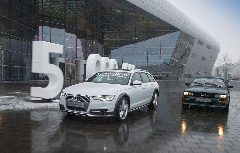 Aniversare la Audi: Nemţii au produs cinci milioane de unităţi echipate cu quattro - Poza 2