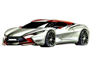 Sbarro React EV, un nou concept hibrid realizat de studenţi, debutează la Geneva