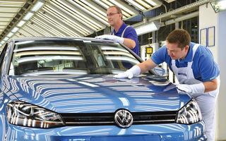 Volkswagen: bonusuri de 7200 de euro pentru 100.000 de salariaţi germani